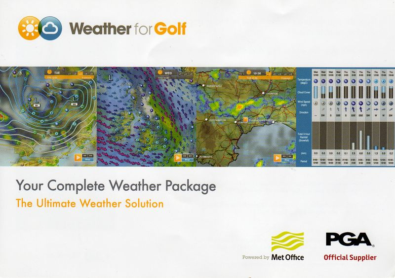 Weather for Golf050